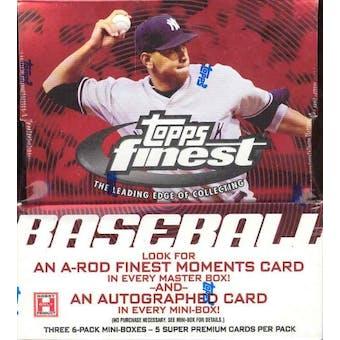 2005 Topps Finest Baseball Hobby Box