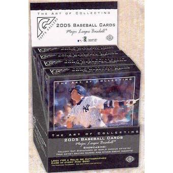 2005 Topps Gallery Baseball Hobby Box