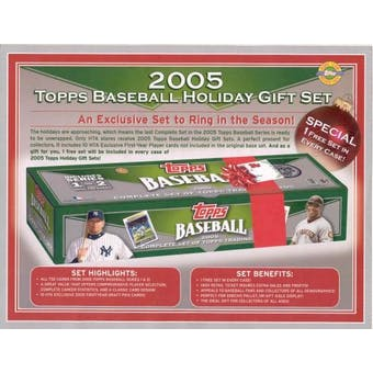 2005 Topps Factory Set Baseball (Box) - 732 card Holiday Set