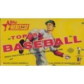 2005 Topps Heritage Baseball Hobby Box