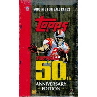 2005 Topps Football Jumbo Box