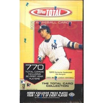 2005 Topps Total Baseball Hobby Box