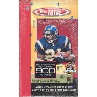 2005 Topps Total Football Hobby Box