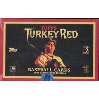 2005 Topps Turkey Red Baseball Hobby Box