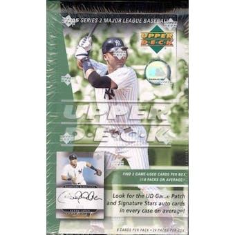 2005 Upper Deck Series 2 Baseball Hobby Box