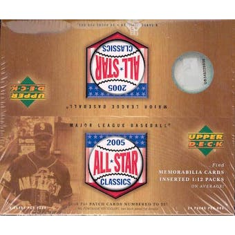 2005 Upper Deck All-Star Classics Baseball Box