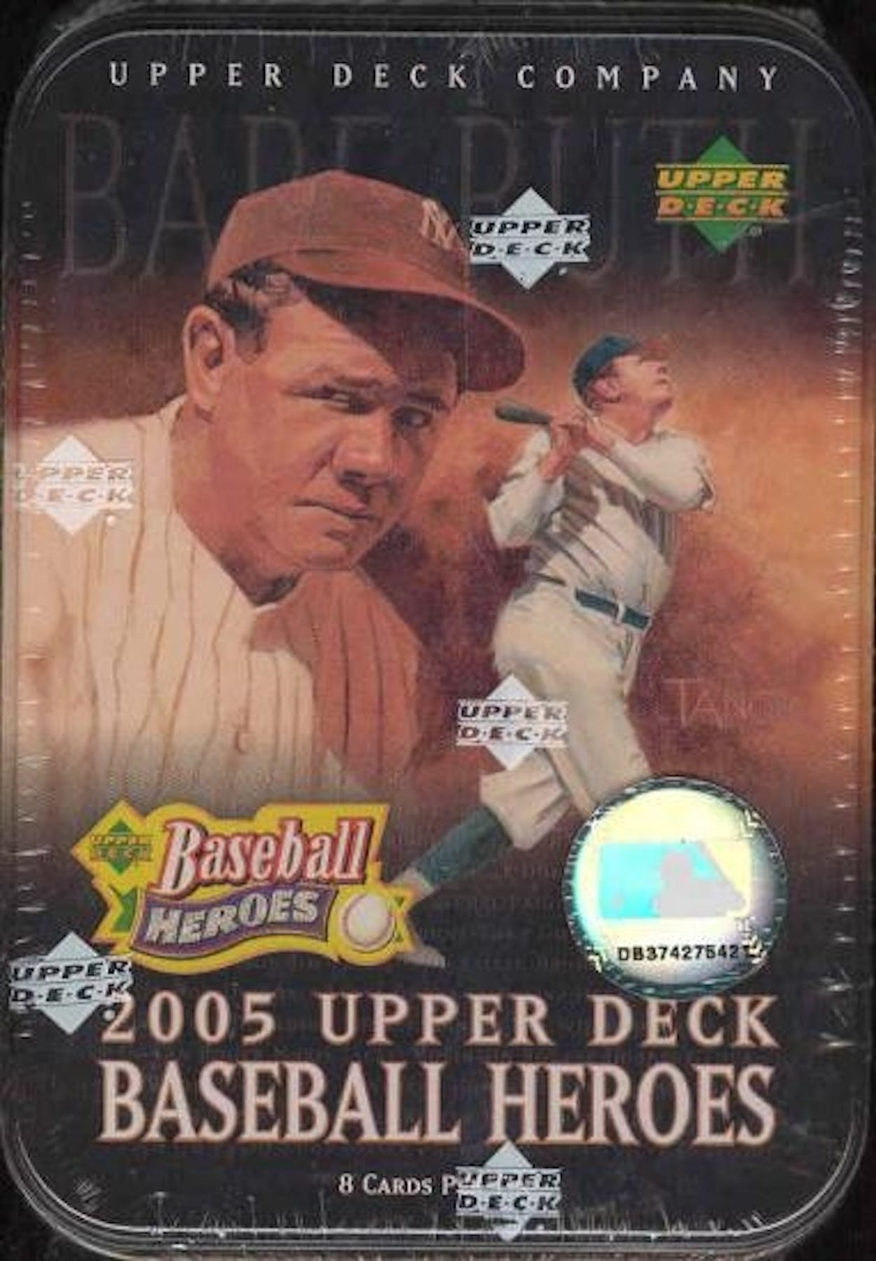 2005 Upper Deck Heroes Baseball Hobby Tin Box Da Card