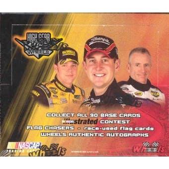 2005 Press Pass Wheels High Gear Racing Hobby Box