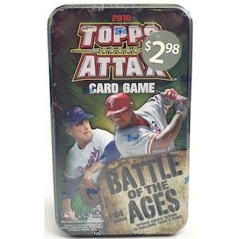 2010 Topps Attax Baseball Battle of the Ages Tin (Lot of 12)