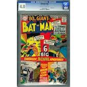 Batman #182 CGC 4.0 (OW-W) *0604906003*