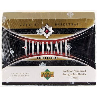 2006/07 Upper Deck Ultimate Collection Basketball Hobby Box