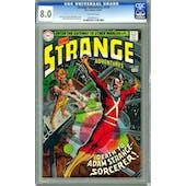 Strange Adventures #218 CGC 8.0 (OW) *0609904017*