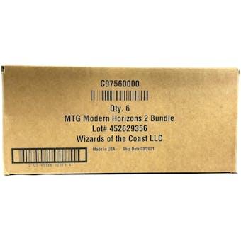 Magic The Gathering Modern Horizons 2 Bundle 6-Box Case