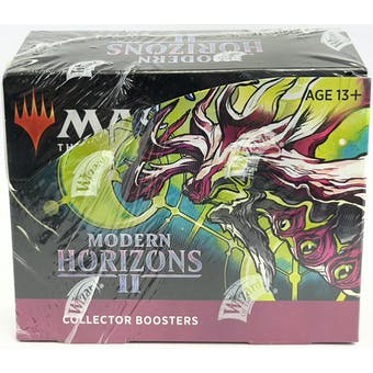 Magic The Gathering Modern Horizons 2 Collector Booster Box