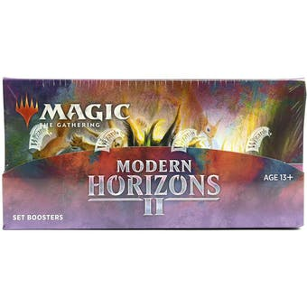 Magic The Gathering Modern Horizons 2 Set Booster Box