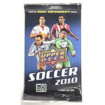 2010 Upper Deck Soccer Retail 36-Pack Lot