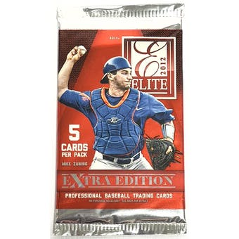 2012 Panini Elite Extra Edition Baseball Retail Pack (Lot of 24)