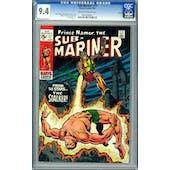 Sub-Mariner #17 CGC 9.4 Oakland Pedigree (OW-W) *0632076007*