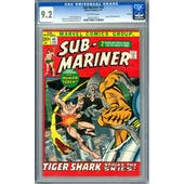 Sub-Mariner #45 CGC 9.2 Oakland Pedigree (OW) *0632076013*