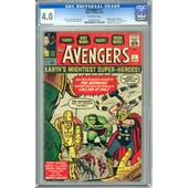 Avengers #1 CGC 4.0 (OW) *0635522010*