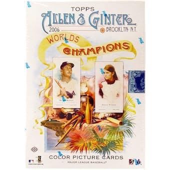 2006 Topps Allen & Ginter Baseball Hobby Box