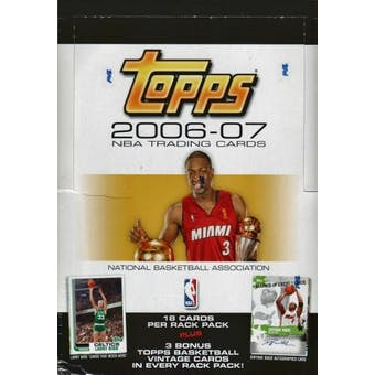 2006/07 Topps Basketball Rack Box
