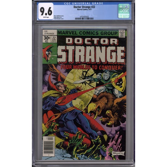 Doctor Strange #22 CGC 9.6 (W) *0701603020*