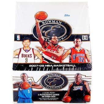 2007/08 Bowman Elevation Basketball Hobby Box