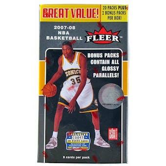 2007/08 Fleer Basketball Blaster Box