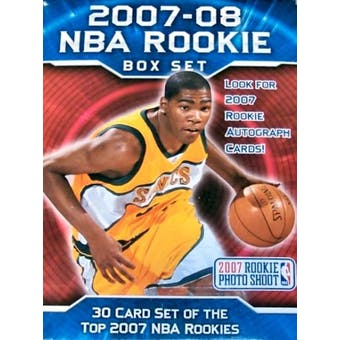 2007/08 Upper Deck Rookie Premiere Basketball Hobby Set (Box)