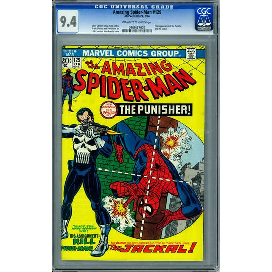 Amazing Spider-Man #129 CGC 9.4 (OW-W) *0709637001*