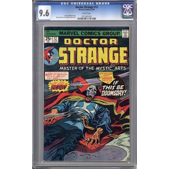 Doctor Strange #12 CGC 9.6 (W) *0711951001*