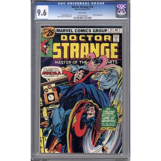 Doctor Strange #14 CGC 9.6 (W) *0711951002*