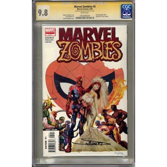 Marvel Zombies #5 Arthur Suydam Signature Series CGC 9.8 (W) *0743385004*