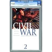 Civil War #2 CGC 9.8 (W) *0745153002*