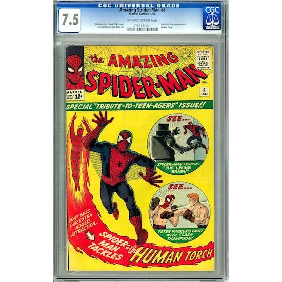 Amazing Spider-Man #8 CGC 7.5 (OW-W) *0750172001*