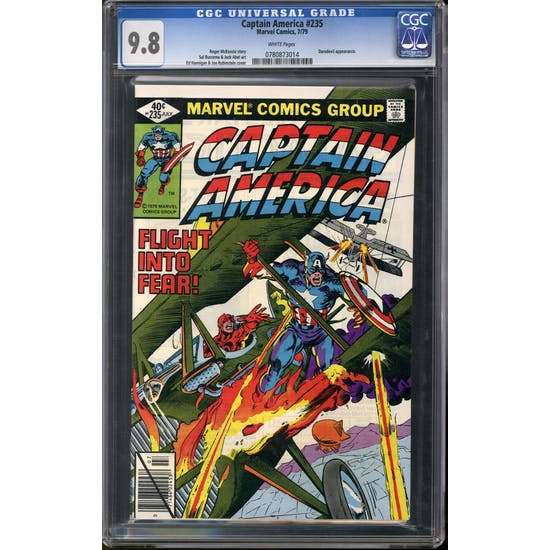 Captain America #235 CGC 9.8 (W) *0780873014*
