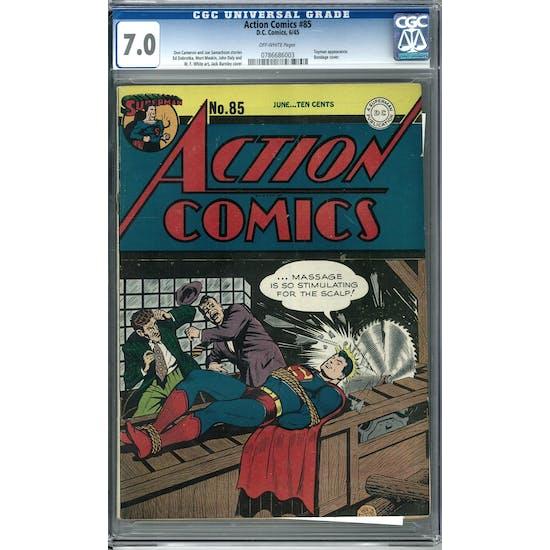 Action Comics #85 CGC 7.0 (OW) *0786686003*