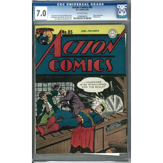 Action Comics #85 CGC 7.0 (OW) *0786686003*