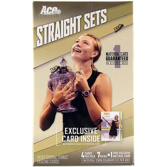 2007 Ace Straight Sets Tennis 7-Pack Box