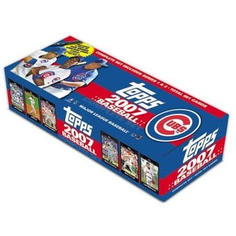 2007 Topps Factory Set Baseball (Box) (Chicago Cubs)