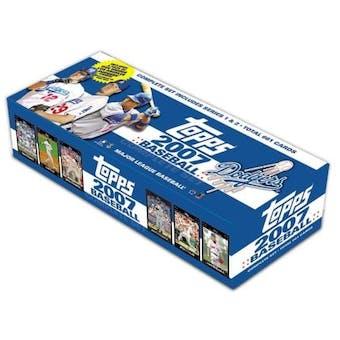 2007 Topps Factory Set Baseball (Box) (Los Angeles Dodgers)