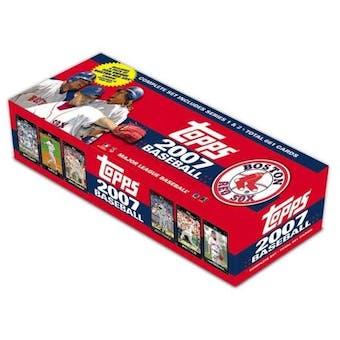 2007 Topps Factory Set Baseball (Box) (Boston Red Sox)