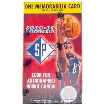 2008/09 Upper Deck SP Basketball 7 Pack Blaster Box