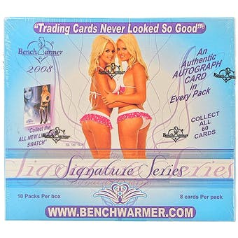 BenchWarmer Signature Series Hobby Box (2008)