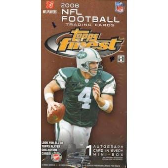 2008 Topps Finest Football Hobby Box