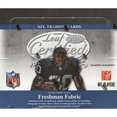 2008 Leaf Certified Materials Football Hobby Box