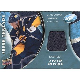 2009/10 Upper Deck Ice Fresh Threads #FTTM Tyler Myers