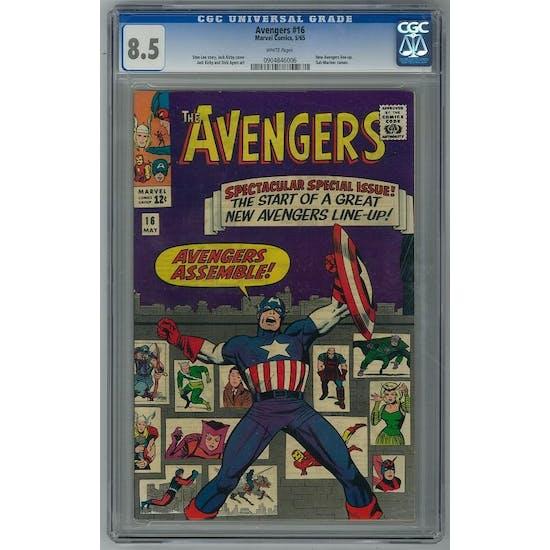Avengers #16 CGC 8.5 (W) *0904846006*