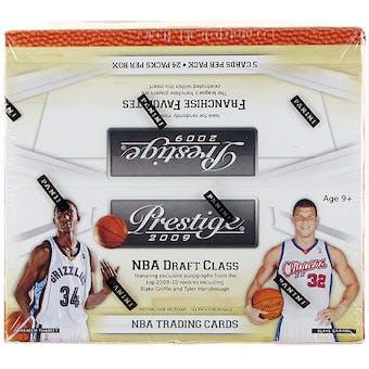 2009/10 Panini Prestige Basketball 24-Pack Box